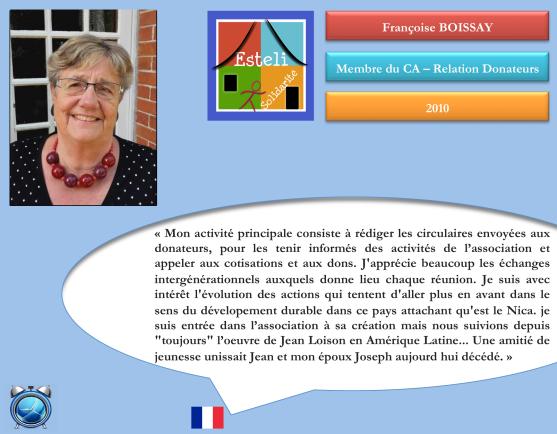 Françoise BOISSAY